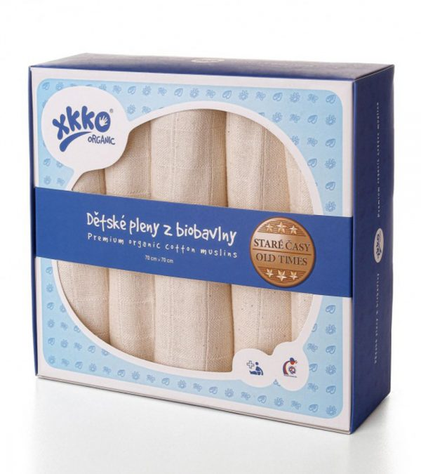 XKKO-Organic-70x70-Staré-časy-natural-5ks-TODDLER